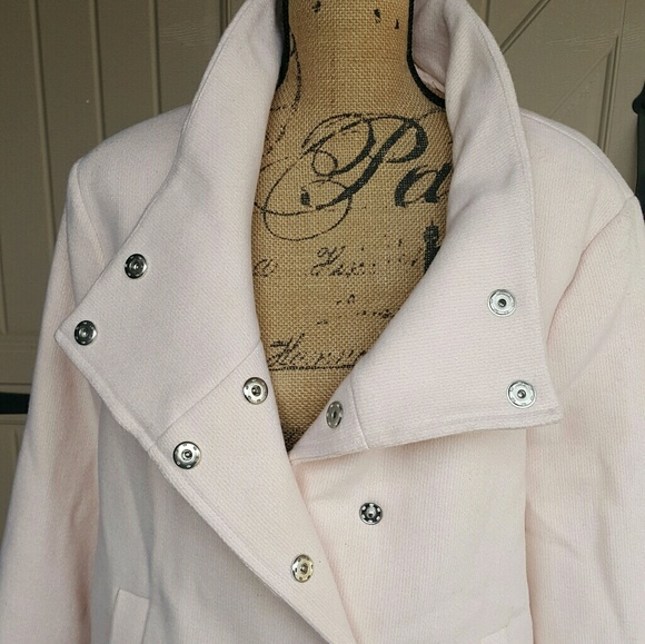 588b51ccd09 Old Navy Pink Pea Jacket Wool blend size XXL